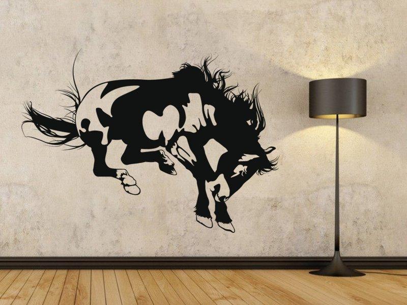 Samolepky na zeď Kůň 007 - Samolepící dekorace a nálepka na stěnu