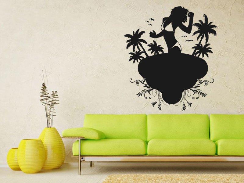 Samolepky na zeď Žena 022 - Samolepící dekorace a nálepka na stěnu
