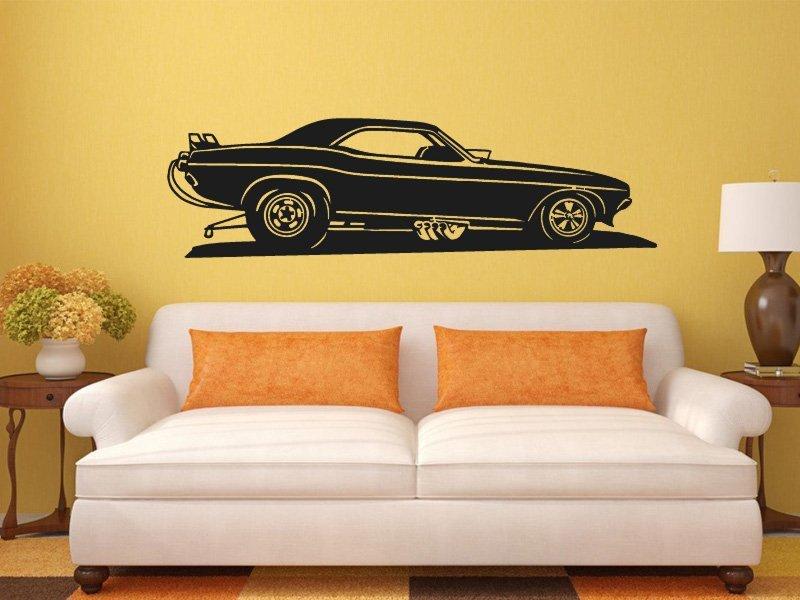 Samolepky na zeď Auto 021 - Samolepící dekorace a nálepka na stěnu