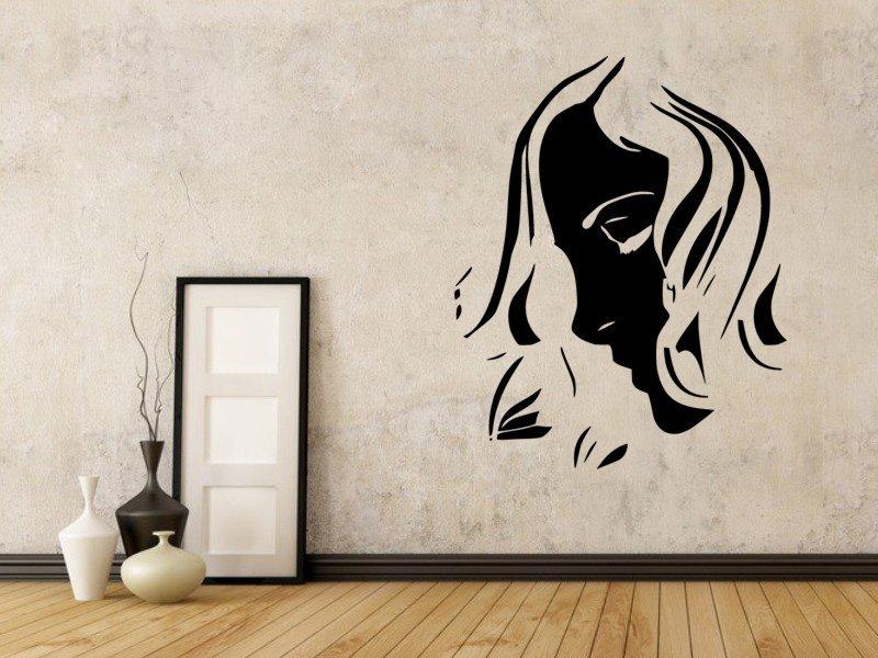Samolepky na zeď Žena 043 - Samolepící dekorace a nálepka na stěnu