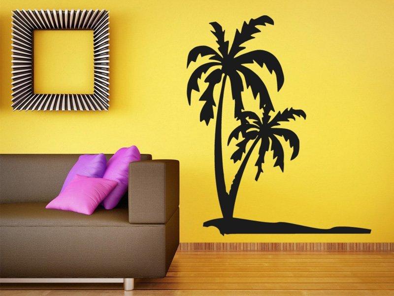 Samolepky na zeď Palmy 0304 - Samolepící dekorace a nálepka na stěnu
