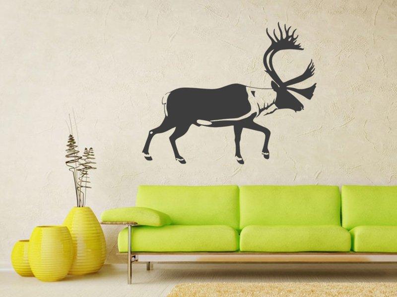 Samolepky na zeď Jelen 007 - Samolepící dekorace a nálepka na stěnu
