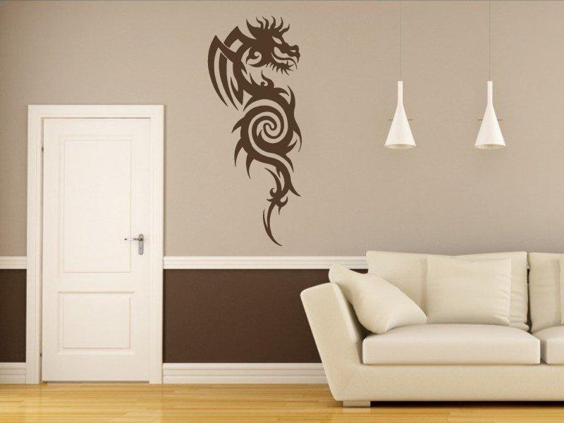 Samolepky na zeď Drak 006 - Samolepící dekorace a nálepka na stěnu
