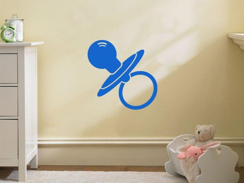 Samolepky na zeď Dudlík 001 - Samolepící dekorace a nálepka na stěnu