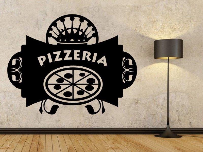 Samolepky na zeď Nápis Pizzeria 0151 - Samolepící dekorace a nálepka na stěnu
