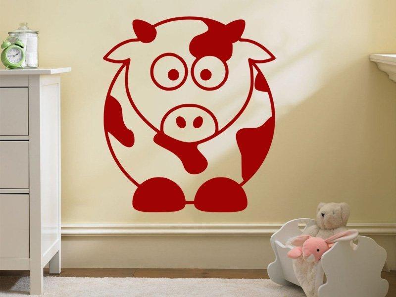 Samolepky na zeď Kráva 001 - Samolepící dekorace a nálepka na stěnu