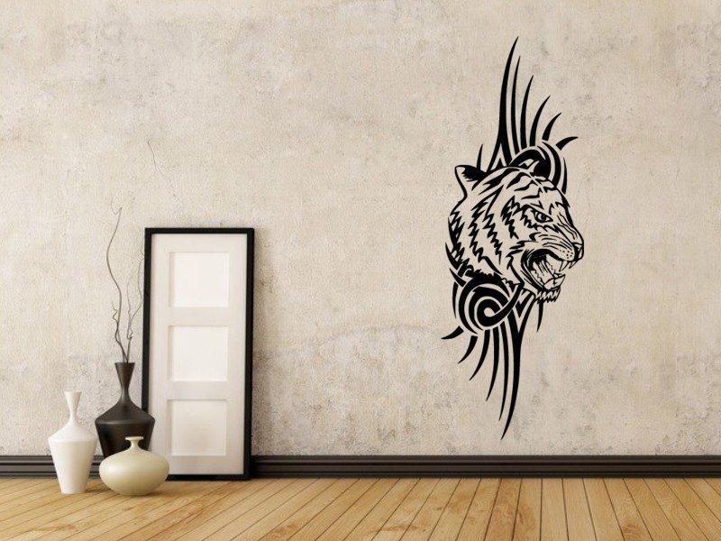 Samolepky na zeď Tygr 010 - Samolepící dekorace a nálepka na stěnu