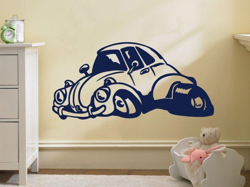 Samolepky na zeď Auto 018 - Samolepící dekorace a nálepka na stěnu