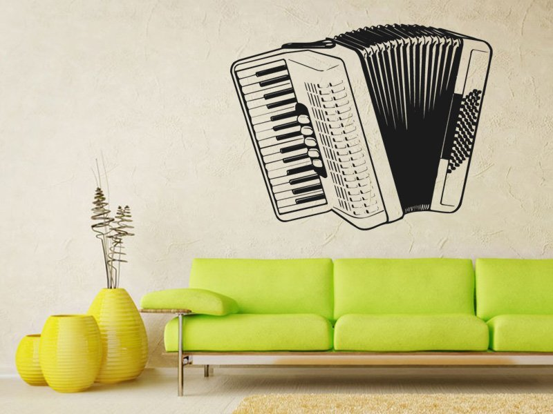 Samolepky na zeď Harmonika 001 - Samolepící dekorace a nálepka na stěnu