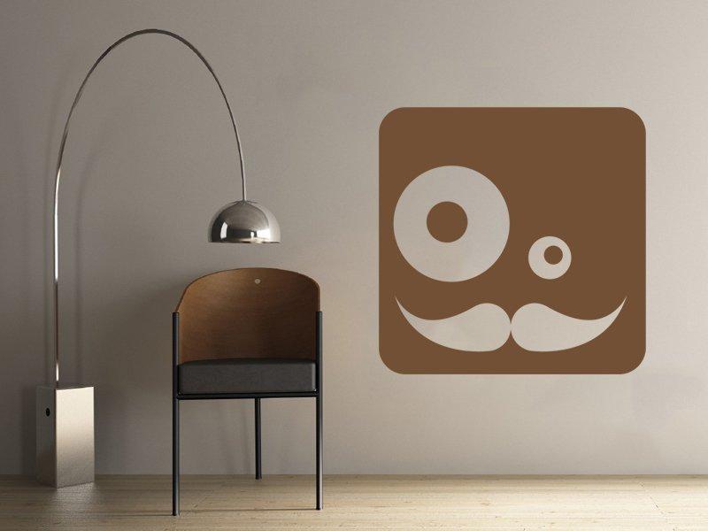 Samolepky na zeď Potvůrky 003 - Samolepící dekorace a nálepka na stěnu