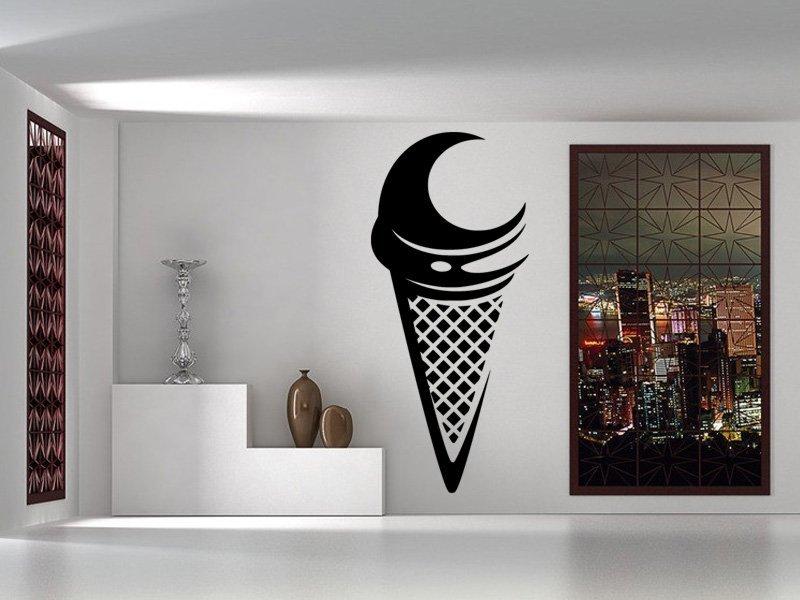 Samolepky na zeď Zmrzlina 0144 - Samolepící dekorace a nálepka na stěnu