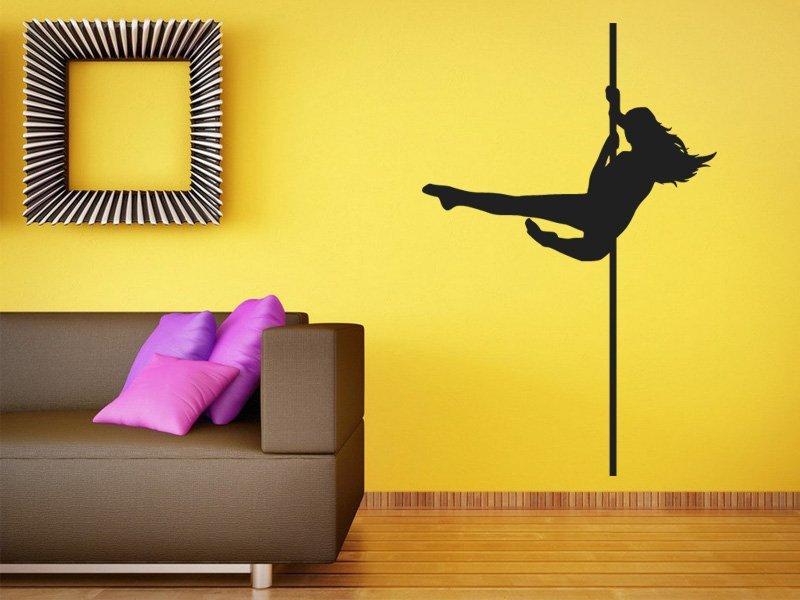 Samolepky na zeď Pole dance 0979 - Samolepící dekorace a nálepka na stěnu