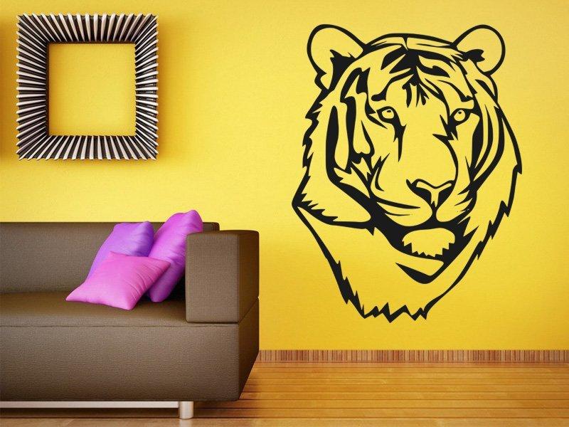 Samolepky na zeď Tygr 011 - Samolepící dekorace a nálepka na stěnu