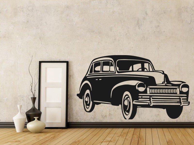 Samolepky na zeď Auto 025 - Samolepící dekorace a nálepka na stěnu