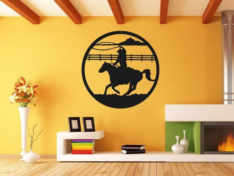 Samolepky na zeď Kůň 0400 - Samolepící dekorace a nálepka na stěnu