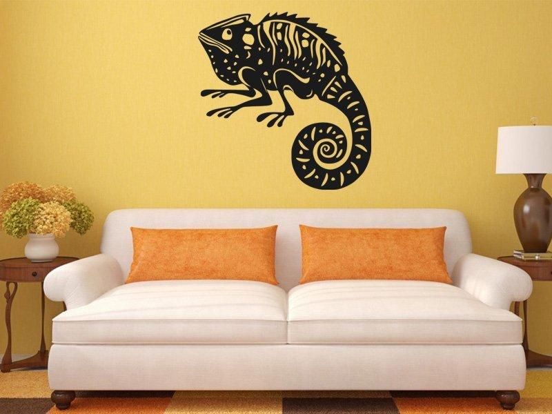 Samolepky na zeď Chameleon 001 - Samolepící dekorace a nálepka na stěnu