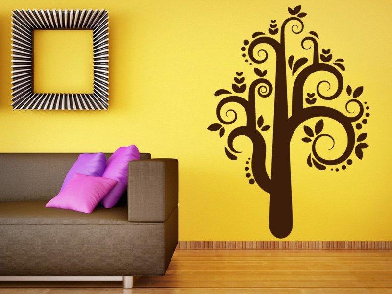 Samolepky na zeď Strom 026 - Samolepící dekorace a nálepka na stěnu