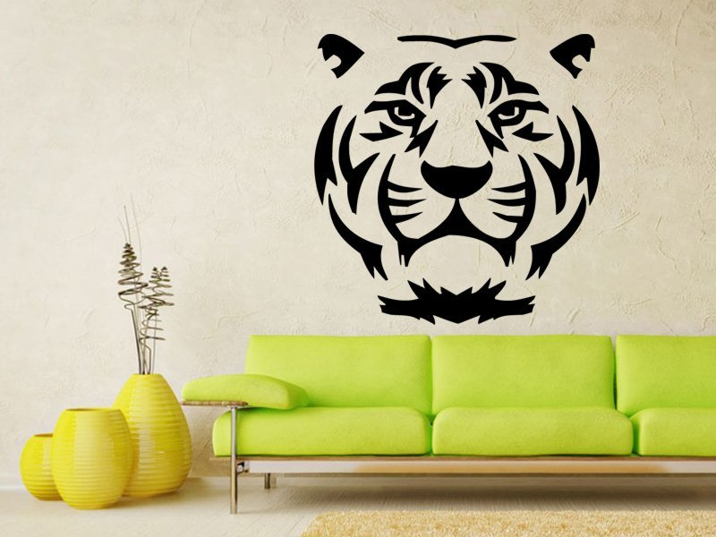 Samolepky na zeď Tygr 007 - Samolepící dekorace a nálepka na stěnu