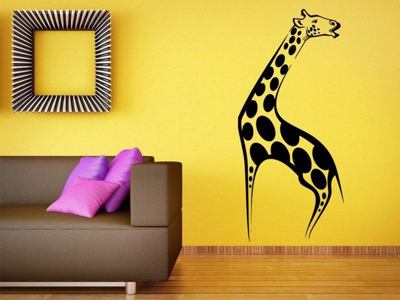 Samolepky na zeď Žirafa 003 - Samolepící dekorace a nálepka na stěnu