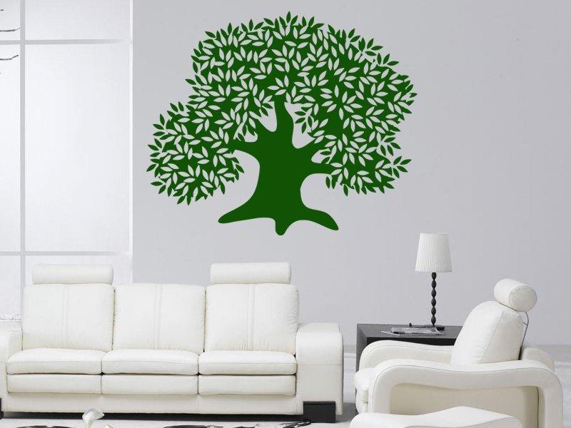 Samolepky na zeď Strom 032 - Samolepící dekorace a nálepka na stěnu