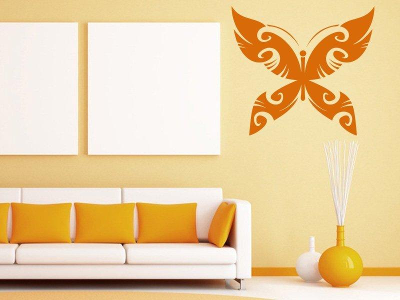 Samolepky na zeď Motýl 015 - Samolepící dekorace a nálepka na stěnu