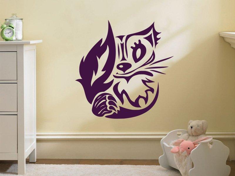 Samolepky na zeď Koťátko 002 - Samolepící dekorace a nálepka na stěnu