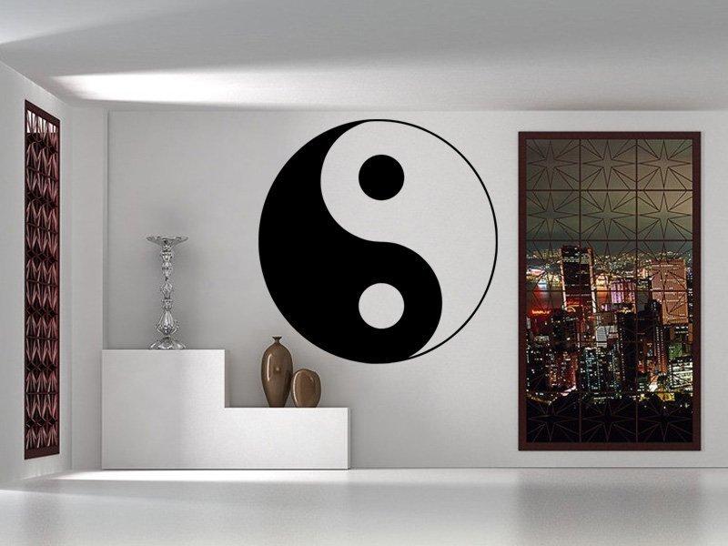 Samolepky na zeď Jing Jang 0314 - Samolepící dekorace a nálepka na stěnu