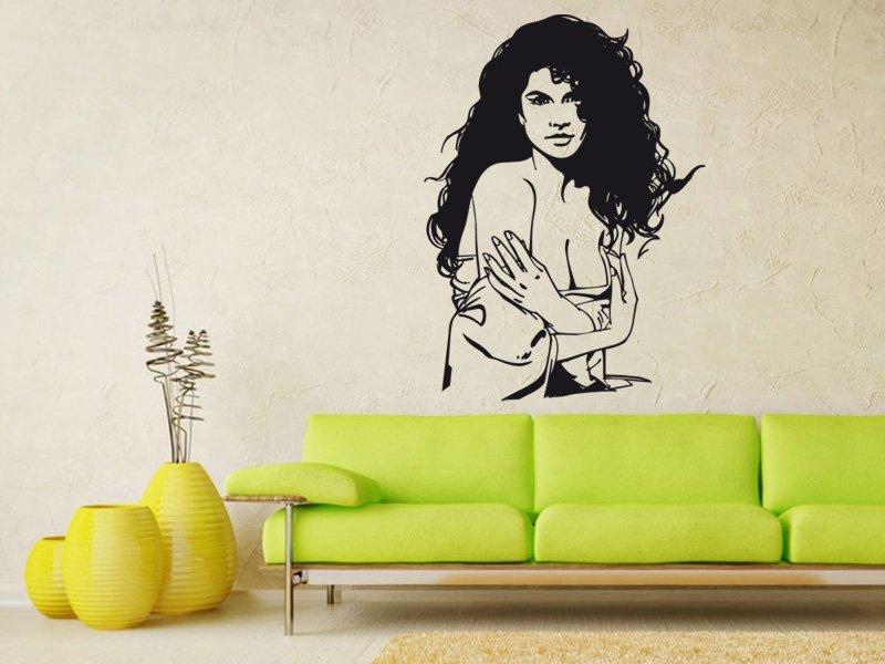 Samolepky na zeď Dívka 010 - Samolepící dekorace a nálepka na stěnu