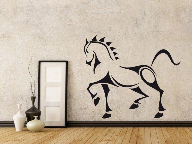 Samolepky na zeď Kůň 001 - Samolepící dekorace a nálepka na stěnu