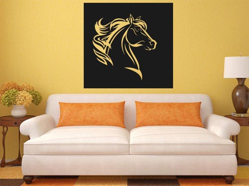 Samolepky na zeď Kůň 0404 - Samolepící dekorace a nálepka na stěnu