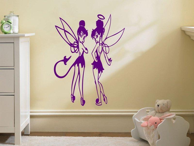 Samolepky na zeď Víla 003 - Samolepící dekorace a nálepka na stěnu