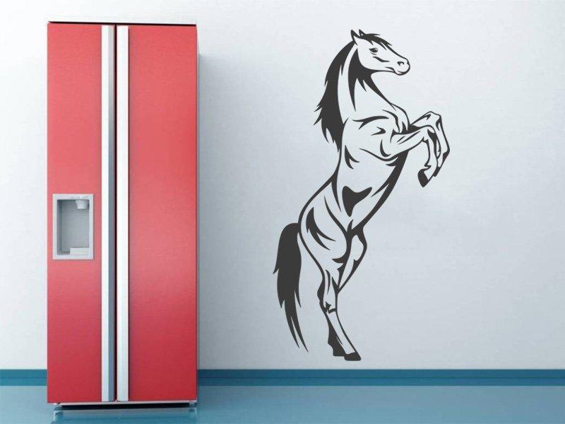 Samolepky na zeď Kůň 033 - Samolepící dekorace a nálepka na stěnu