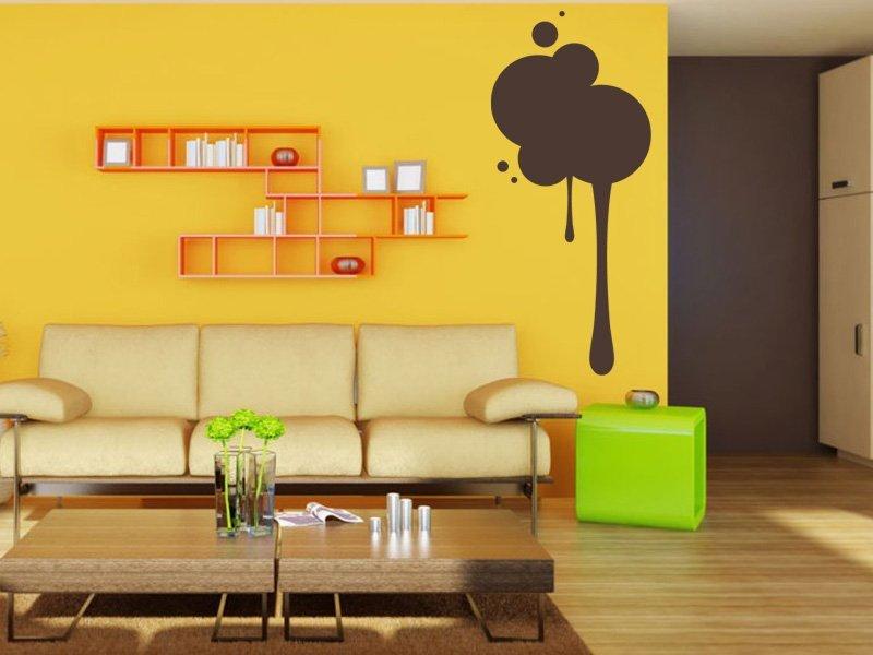 Samolepky na zeď Kruhy 006 - Samolepící dekorace a nálepka na stěnu