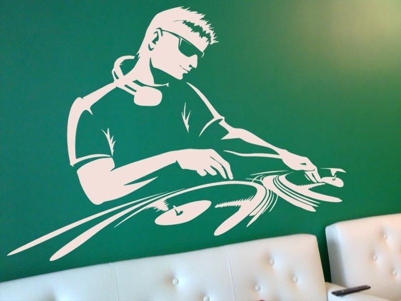 Samolepky na zeď DJ 002