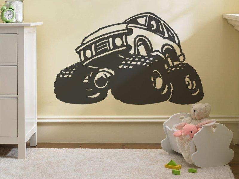 Samolepky na zeď Auto 013 - Samolepící dekorace a nálepka na stěnu