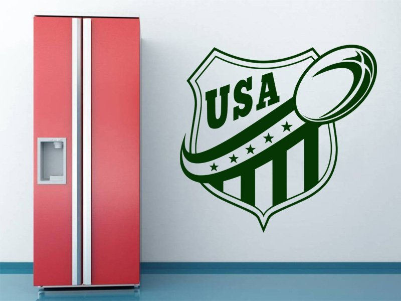 Samolepky na zeď Americký fotbal 001 - Samolepící dekorace a nálepka na stěnu