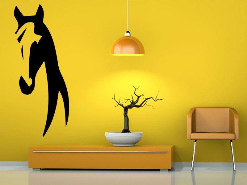 Samolepky na zeď Kůň 0368 - Samolepící dekorace a nálepka na stěnu