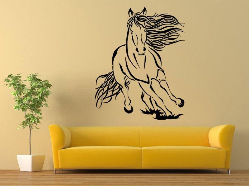 Samolepky na zeď Kůň 0401 - Samolepící dekorace a nálepka na stěnu