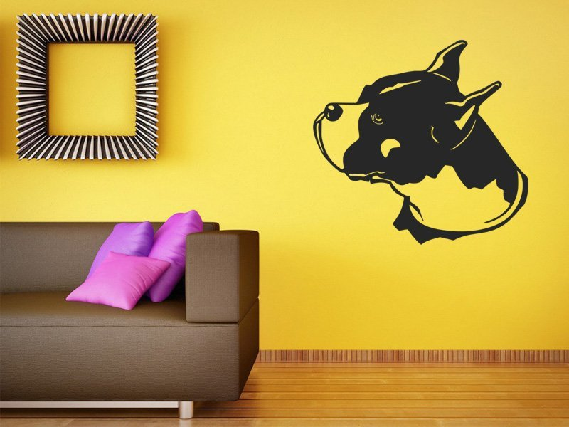 Samolepky na zeď Boxer 001 - Samolepící dekorace a nálepka na stěnu
