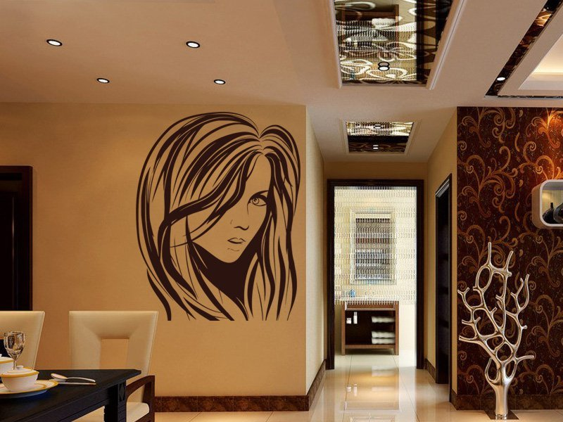 Samolepky na zeď Žena 033 - Samolepící dekorace a nálepka na stěnu