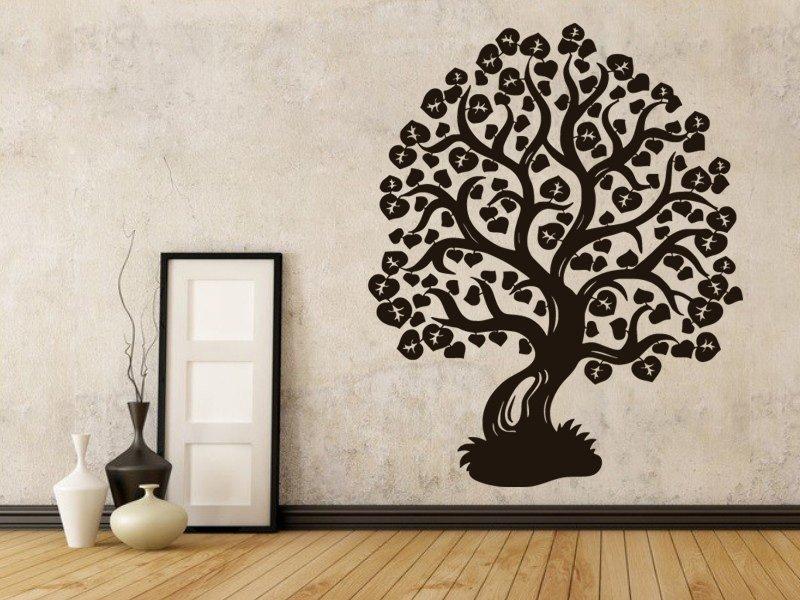 Samolepky na zeď Strom 008 - Samolepící dekorace a nálepka na stěnu