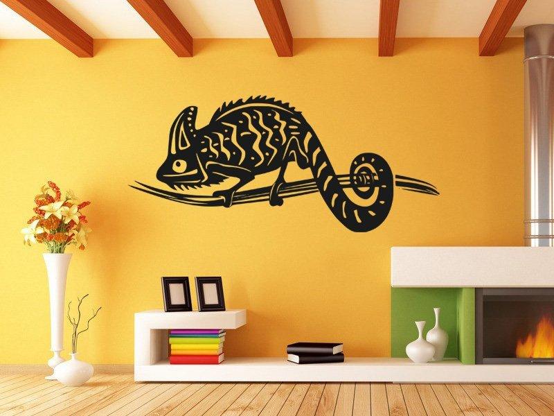 Samolepky na zeď Chameleon 002 - Samolepící dekorace a nálepka na stěnu