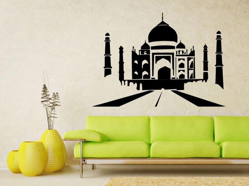 Samolepky na zeď Tai Mahal 001 - Samolepící dekorace a nálepka na stěnu