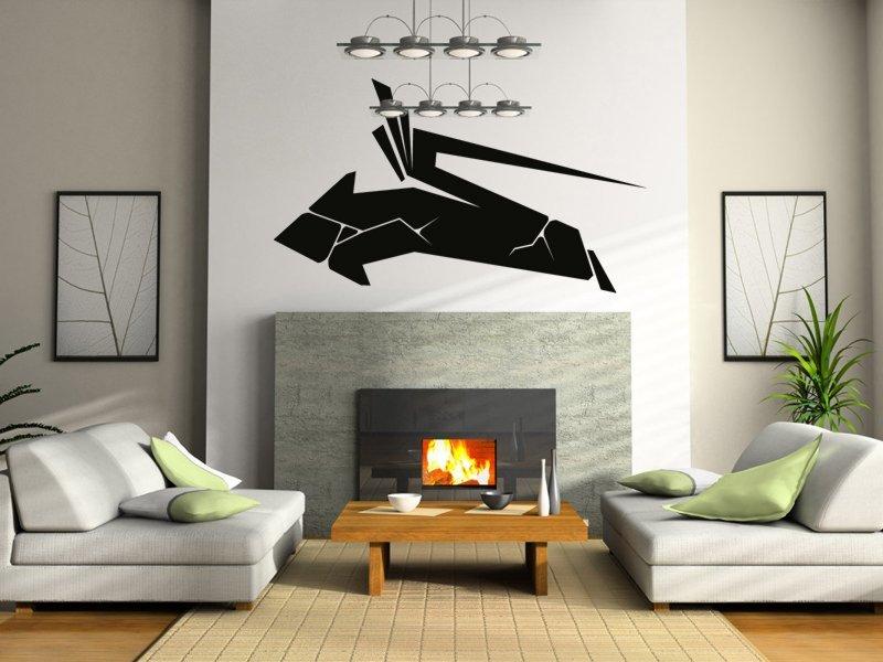 Samolepky na zeď Šipka 002 - Samolepící dekorace a nálepka na stěnu