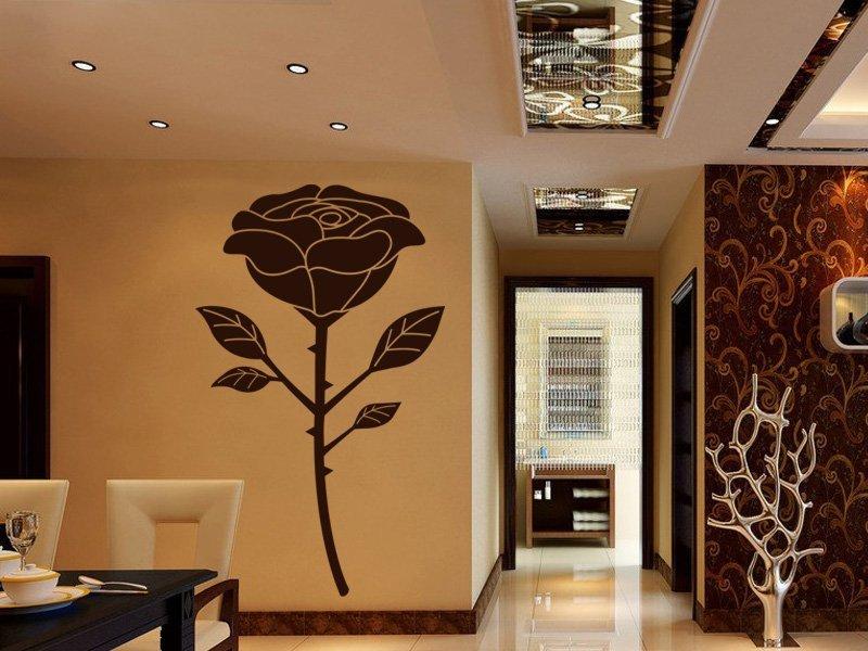 Samolepky na zeď Růže 015 - Samolepící dekorace a nálepka na stěnu