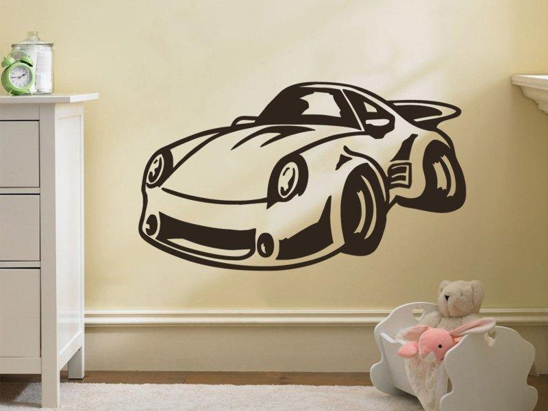Samolepky na zeď Auto 017 - Samolepící dekorace a nálepka na stěnu