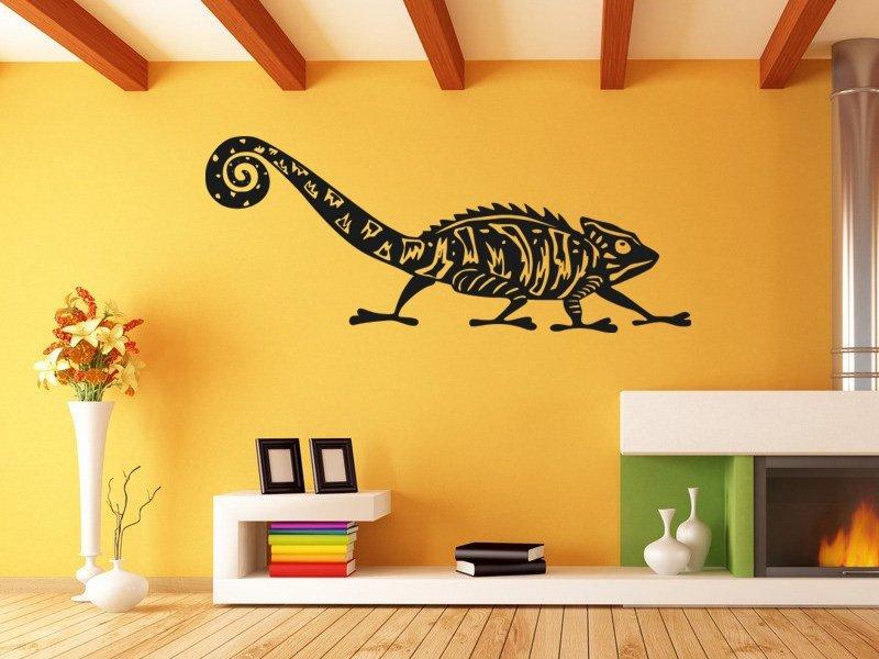 Samolepky na zeď Chameleon 003 - Samolepící dekorace a nálepka na stěnu