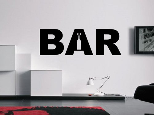 Samolepky na zeď Bar 001