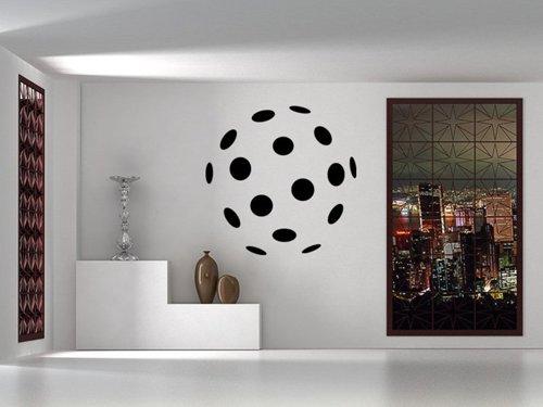 Samolepky na zeď Florbalový míček 1110