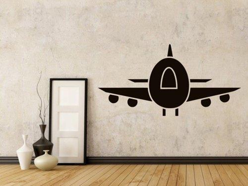 Samolepky na zeď Letadlo 0871